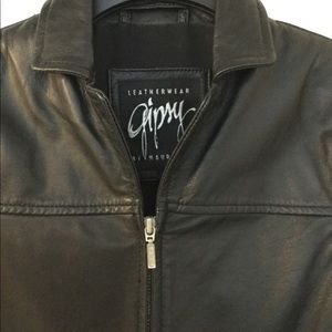 Gipsy leather jacket.  Woman's small